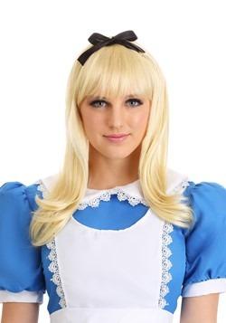 Women's Classic Blonde Alice Wig Update Main
