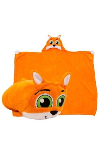 Finn the Fox Comfy Critter Blanket