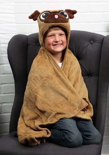 Pickle the Pug Comfy Critter Blanket