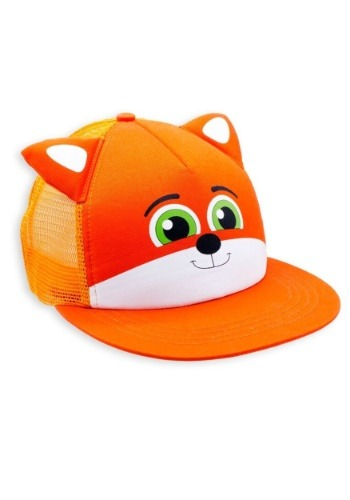 Finn the Fox Critter Cap