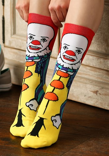 Classic Pennywise IT Crew Socks Update
