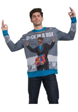 SNL DCK In a Box Long Sleeve Ugly Christmas Tee