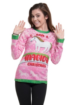 Have a Magical Christmas Long Sleeve Ugly Christmas
