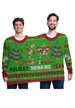 All Elfed Up 2 Person Ugly Christmas Tee1