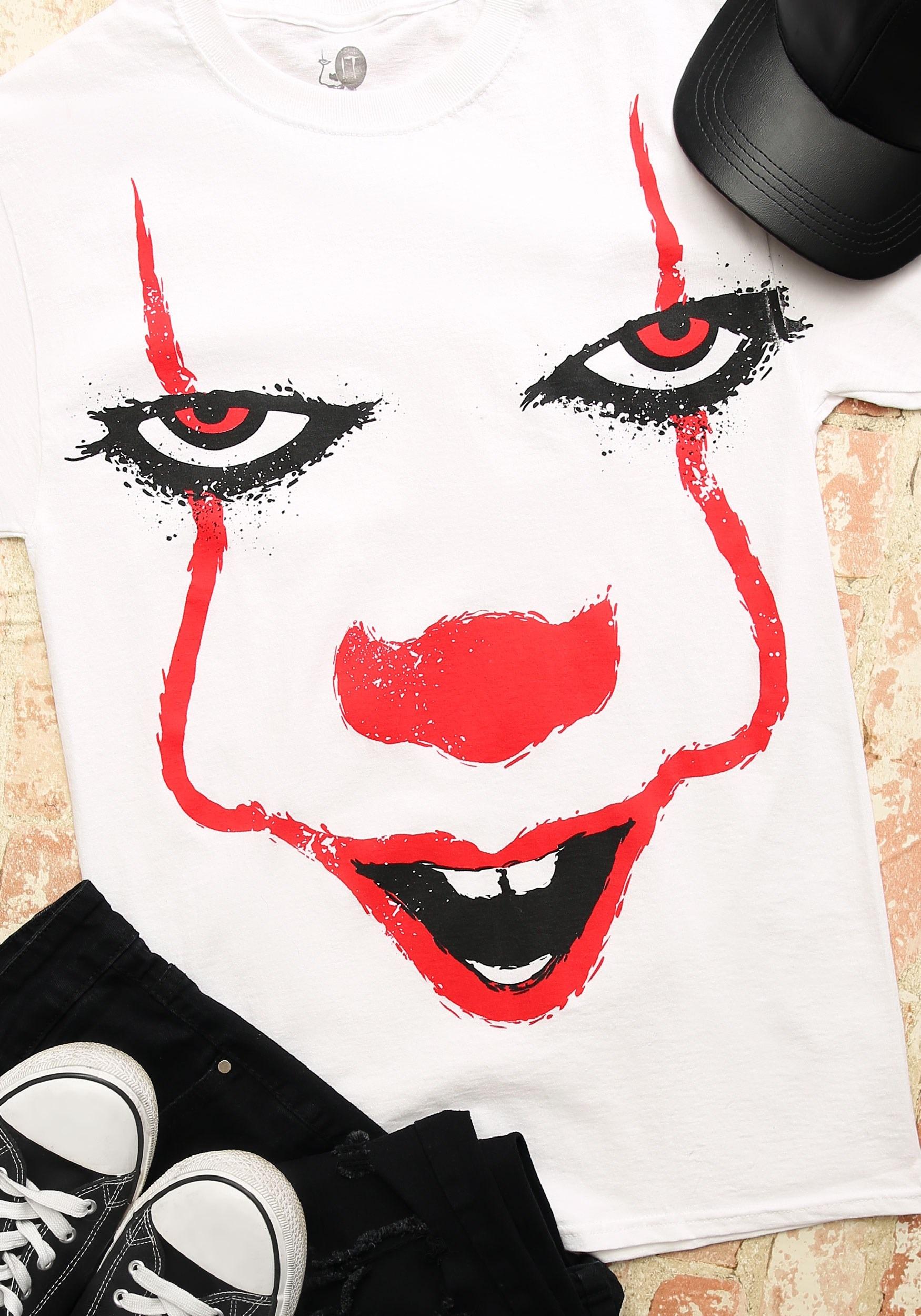 b111922df Pennywise Splatter Face Men's T-Shirt-update1