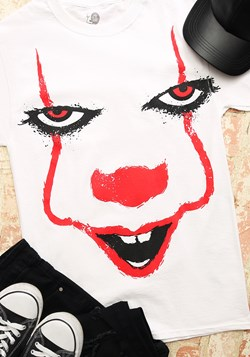 Pennywise Splatter Face Men's T-Shirt-update1