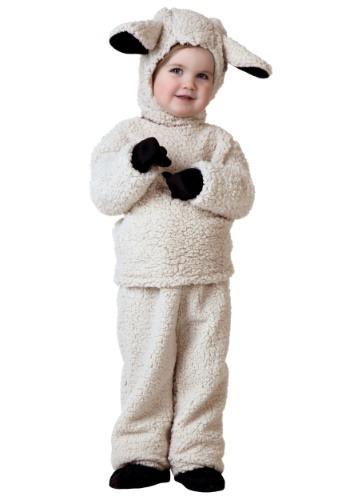 Toddler Woolly Sheep Costume
