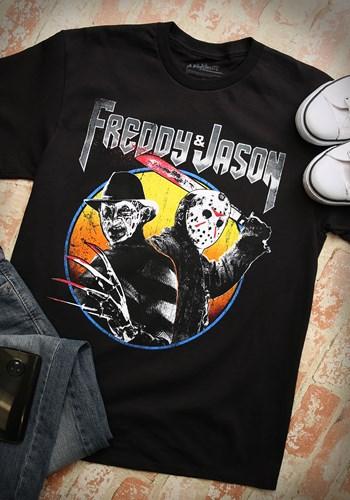 Freddy and Jason Metal Album Men's TShirt update