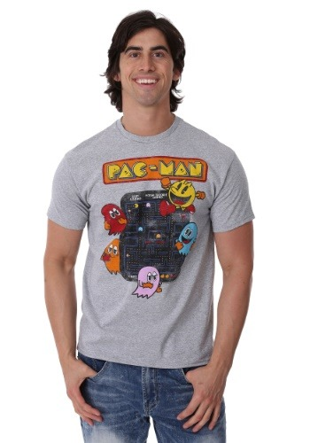 Vintage Pac-Man Game Board Men's T-Shirt