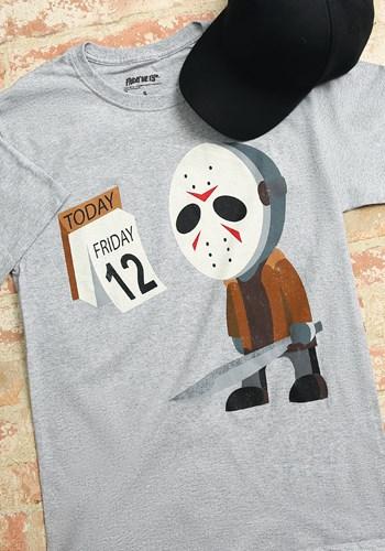 Sad Jason Friday the 12th Men's T-Shirt1