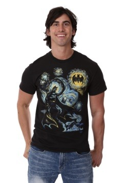 Men's Batman Abstract Painting T-Shirt1