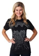 Batman Logo Broken Glass Adult T-Shirt