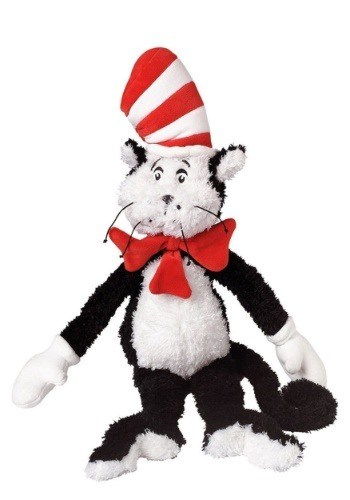 "The Cat In The Hat Medium 14"" Stuffed Figure"