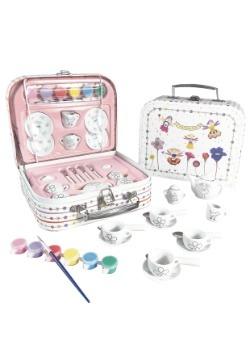 Paint Your Own Porcelain Petal Tea Party Set-update1