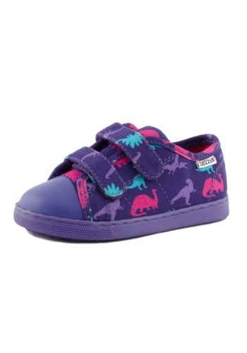 Dezzy Marley Purple Dinosaur Child Shoe