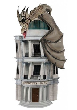Harry Potter Gringotts Bank