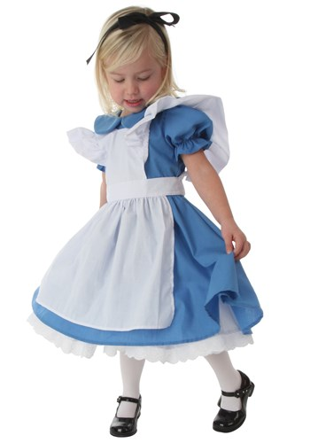 Toddler Girls Alice Costume Deluxe1