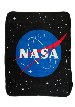 NASA Icon Microfiber Fleece Throw
