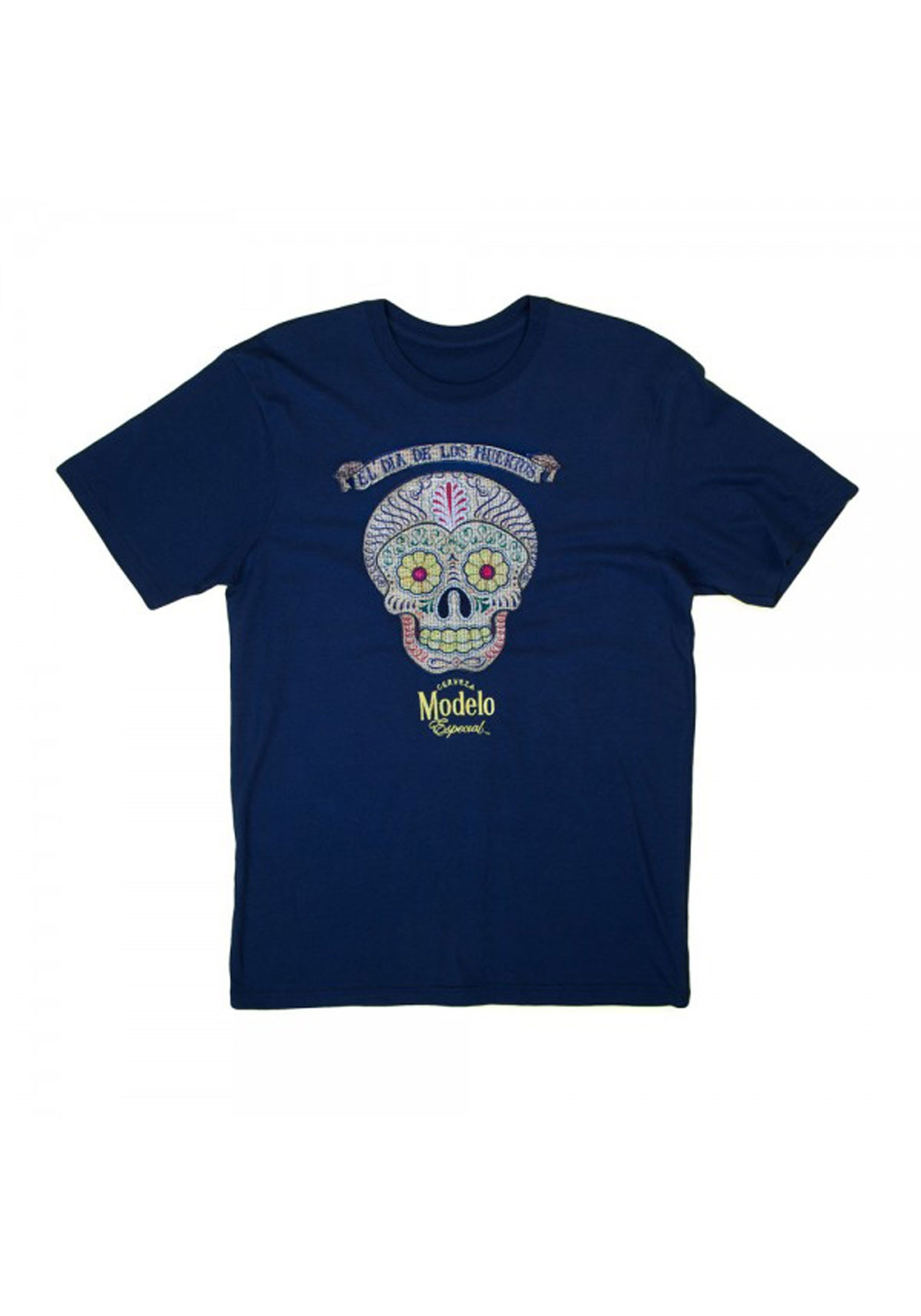 Modelo Dia De Los Muertos Men's T-Shirt