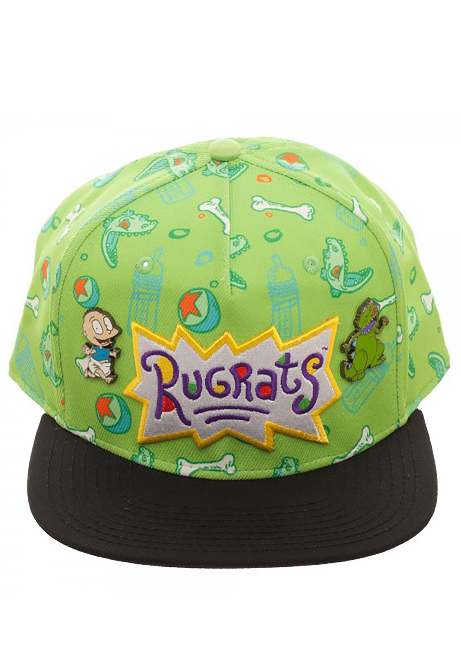 free shipping 3abc6 5493a Nickelodeon Rugrats Sublimated Snapback Hat