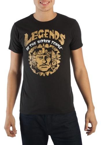 Nickelodeon Legends of The Hidden Temple Men's Black T-Shirt