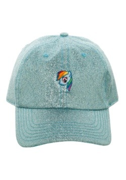 My Little Pony Rainbow Dash Glitter Fabric Dad Hat1