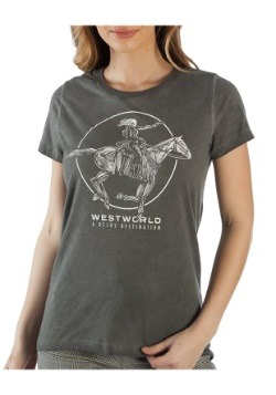 Westworld Delos Hilo Boyfriend Junior's Tee