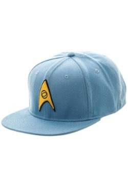 Star Trek Blue Snapback Hat2