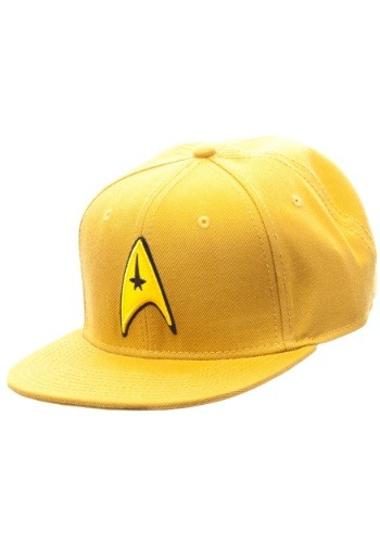 Star Trek Gold Snapback Hat1