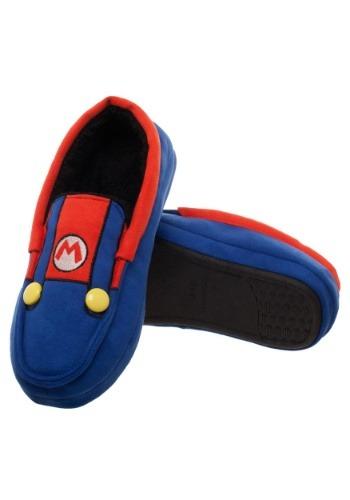 Adult Super Mario Suit-Up Moccasins1