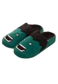Adult Marvel Hulk 3D Scuff Slippers1