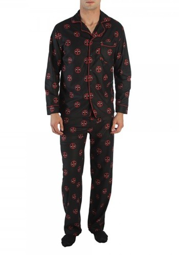 Deadpool All Over Print Pajama Set