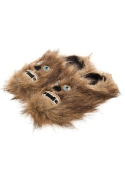 Adult Star Wars Chewbacca Scuff Slippers1