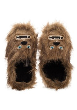 Adult Star Wars Chewbacca Scuff Slippers2