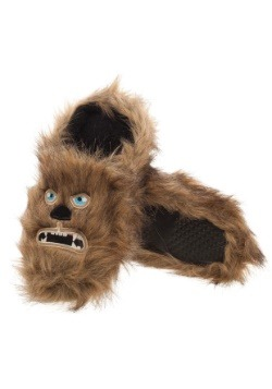 Adult Star Wars Chewbacca Scuff Slippers3