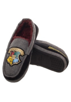 Harry Potter Hogwarts Crest Adult Moccasins1