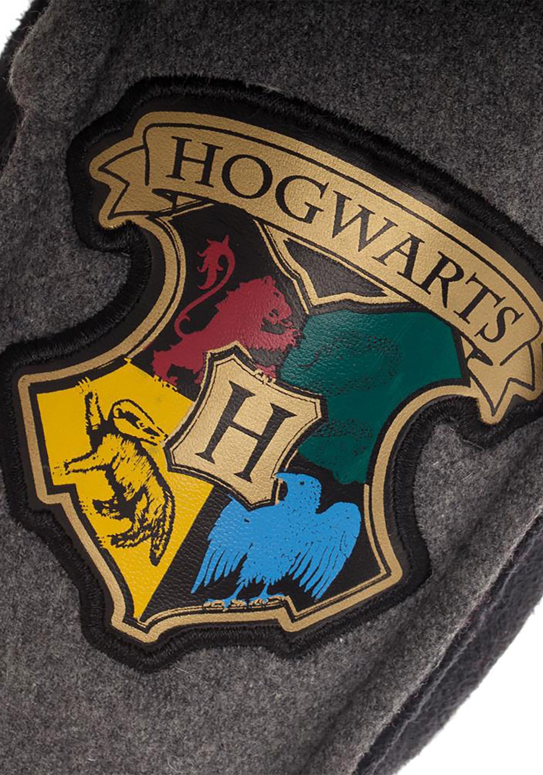 16dbc2237ae4a Harry Potter Hogwarts Crest Adult Moccasins