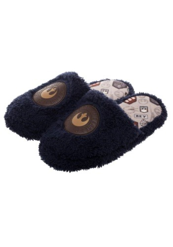 Adult Star Wars The Last Jedi Rey-Inspired Scuff Slippers