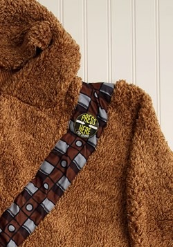 Chewbacca Adult Star Wars Sherpa Robe with Sound Chip alt 1