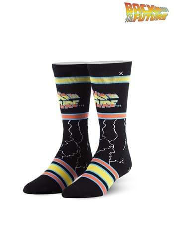 Odd Sox Back to the Future Adult Knit Socks