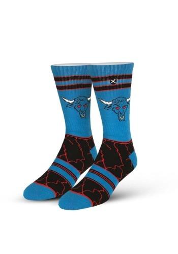 Odd Sox WWE The Rock Brahma Bull Knit Socks