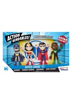Justice League Action Bendables Set