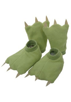 Dinosaur Hands and Feet For A Toddler