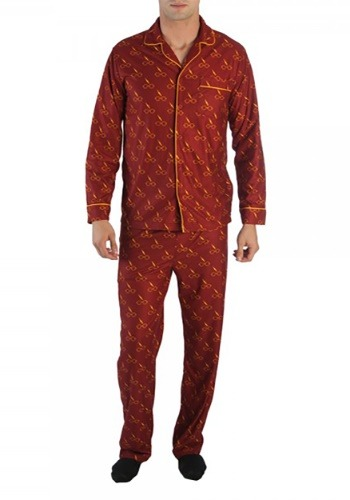 Harry Potter All-Over Print Men's Pajama Set1