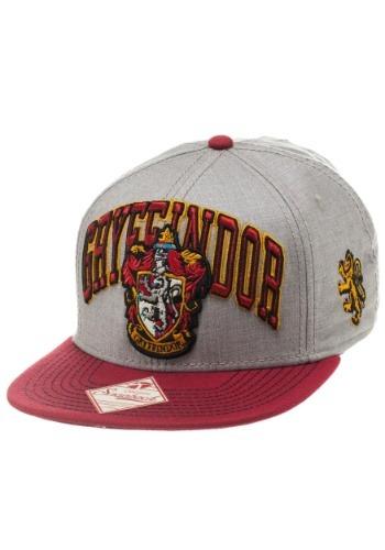 Harry Potter Gryffindor Snapback Hat1