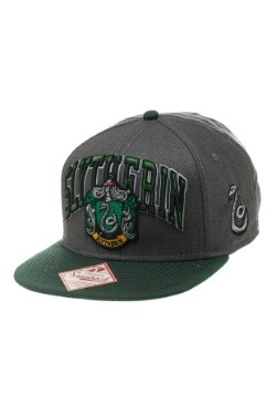Harry Potter Slytherin Snapback Hat1