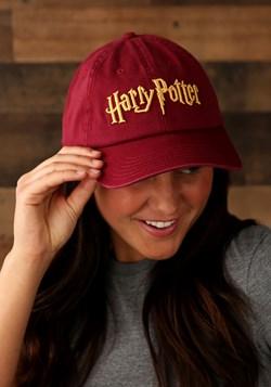 Harry Potter Logo Adjustable Cap