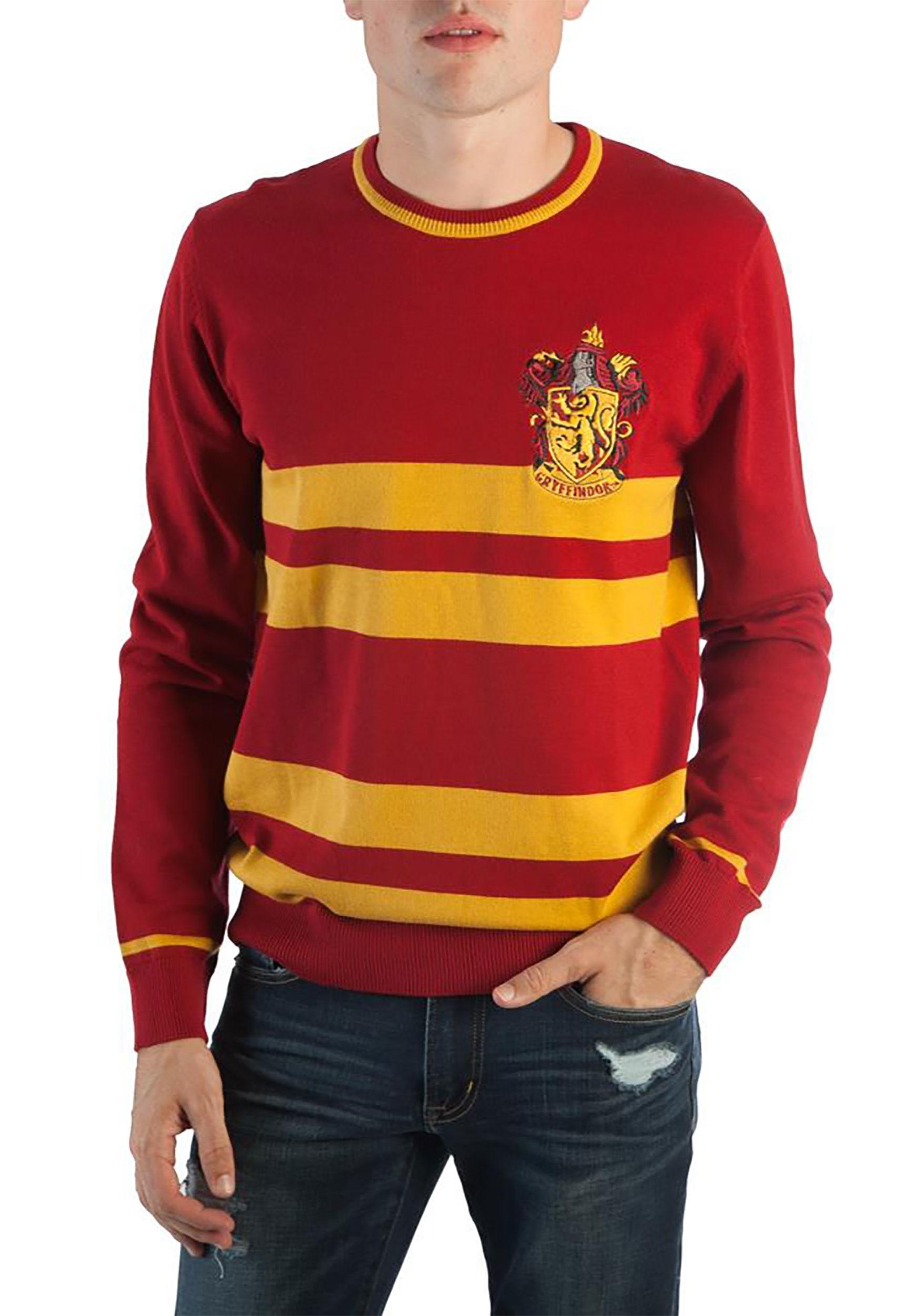 4594244d8 Harry Potter Gryffindor Men's Jacquard Sweater2