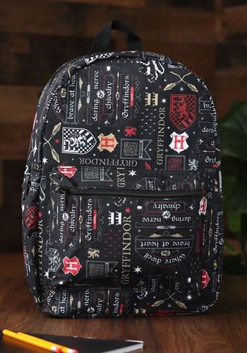Harry Potter Gryffindor Icon Backpack1