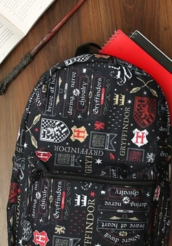 Harry Potter Gryffindor Icon Backpack alt 1